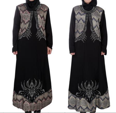 New muslim clothing Arabic Burqa Dress for Women Latest Abaya Designs for sale