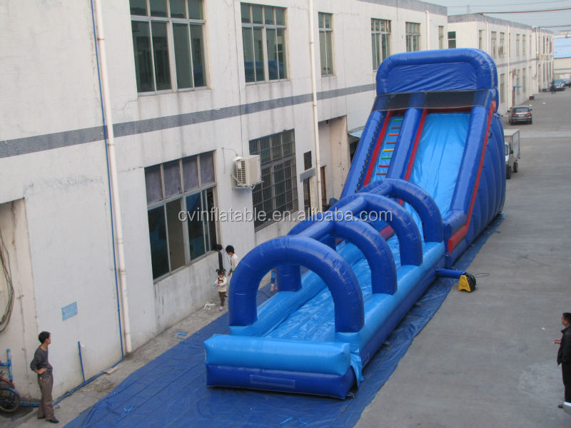 cheap commercial giant inflatable slide, , big water slides ,inflatable jumping slide for sale