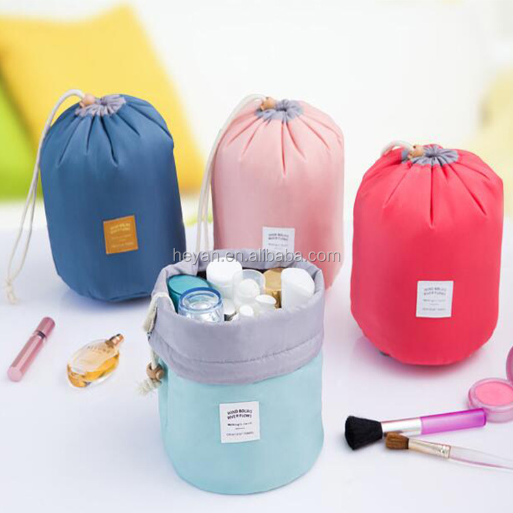 Fashion Korea Design Drawstring Travel Toilet Bags Cometic container Bags