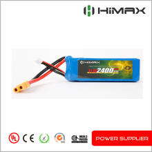 High discharge rate 45C lithium polymer 12v rc car battery