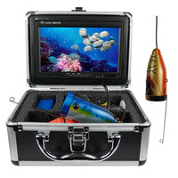 7 inch TFT color monitor fishing camera CCD HD 700 TV lines underwater video camera