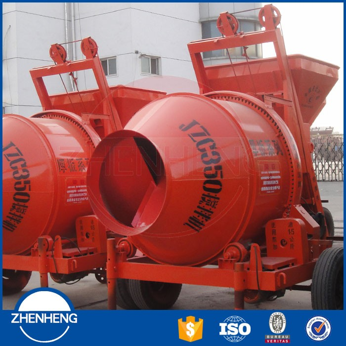 Supplier For World Top 500 Company Lafarge Group JZCP500 Automatic Electric Cement Mixing Machine