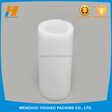 China professional manufacturer white Round Hollow Foam Tubes for protective