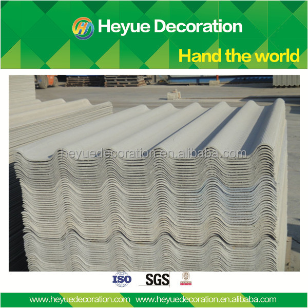 corrugated Non-asbestos fiber cement roof sheets