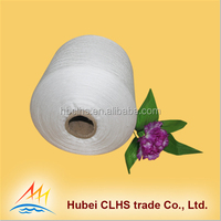 Hubei manufacturer 100% polyester sewing thread yarn for one year baby party dresses