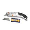 heavy duty multi-function safety SK5 cutter knife blade with blade storage