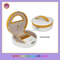 New Design Packaging Jewelry Boxes And Diamonds & Fashion Jewelry Packaging Suitcase With Handles Wholesale