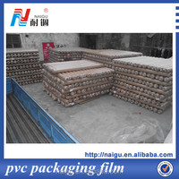 soft clear pvc film with self-adhesive film GSG