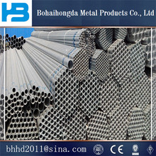 Q235 building materials galvanized steel pipe/weight of gi round pipe/Tianjin pipe With Competitive Price and best quality