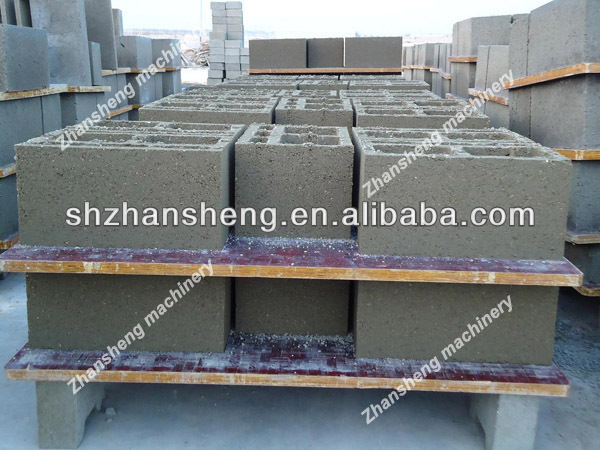 Bamboo /steel/palstic pallets for brick block making machine