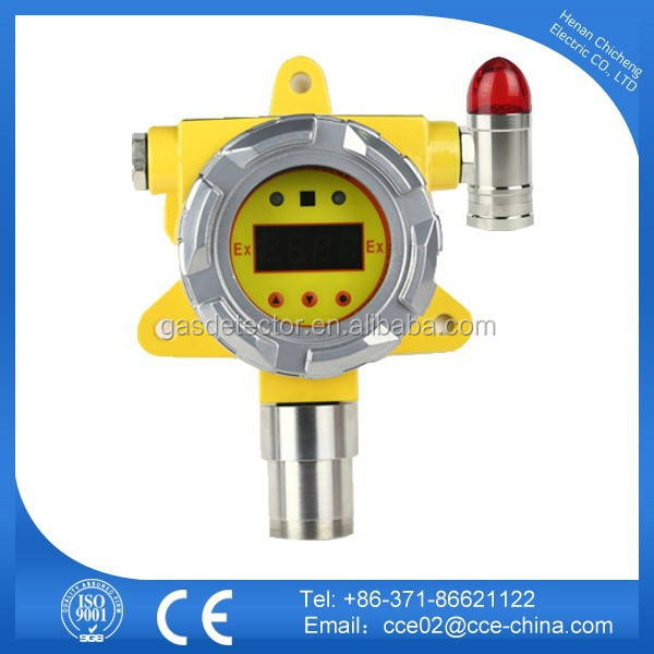 Industry Chlorine Gas Detector CL2 Sensor With Sound and Light Alarm