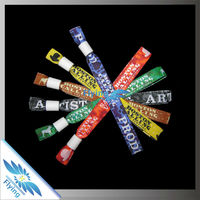 Easy handicrafts customized design custom maker woven athletic wristbands