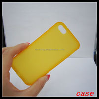 ULTRA THIN Rubber Solt TPU Soft Back Cover Case For iPhone 5 5s