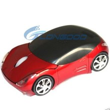 1600dpi 3D Car Style 2.4G Wireless Optical Mouse With Usb Mini Receiver
