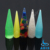 Fashion colored large size acrylic ear tapers expander jewelry wholesale