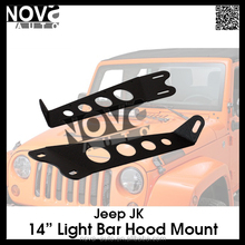 "2015 New Products Car Accessories Jeep JK 14"" Light Bar Hood Mount"