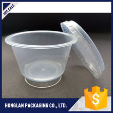 Hot selling custom design food packaging plastic cup for wholesale