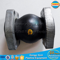 DN40 oil resistance NBR rubber expansion joint for oli piping