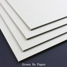 paperboard solid grey color thickness for 2mm