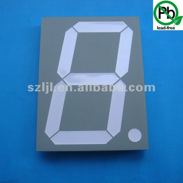 Shenzhen Best Supplier 8 inch 1 digit 7/seven segment led display