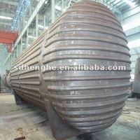 shell and tube oil heat exchanger