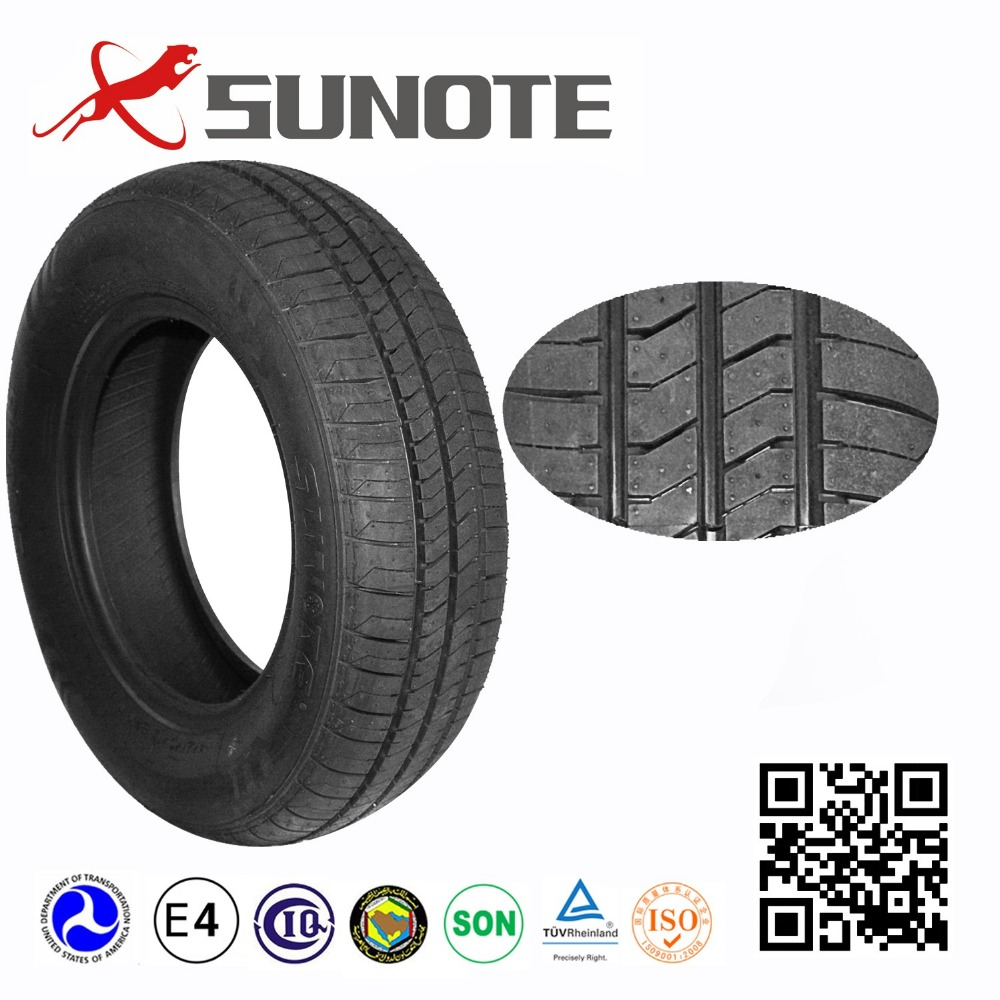 new car tires 165/70R13 made in thailand