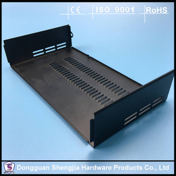 Finest black anodizing AL metal compact shielding case