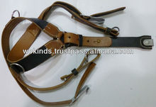REPLICAS WW2 GERMAN ARMY LEATHER Y BELT 1
