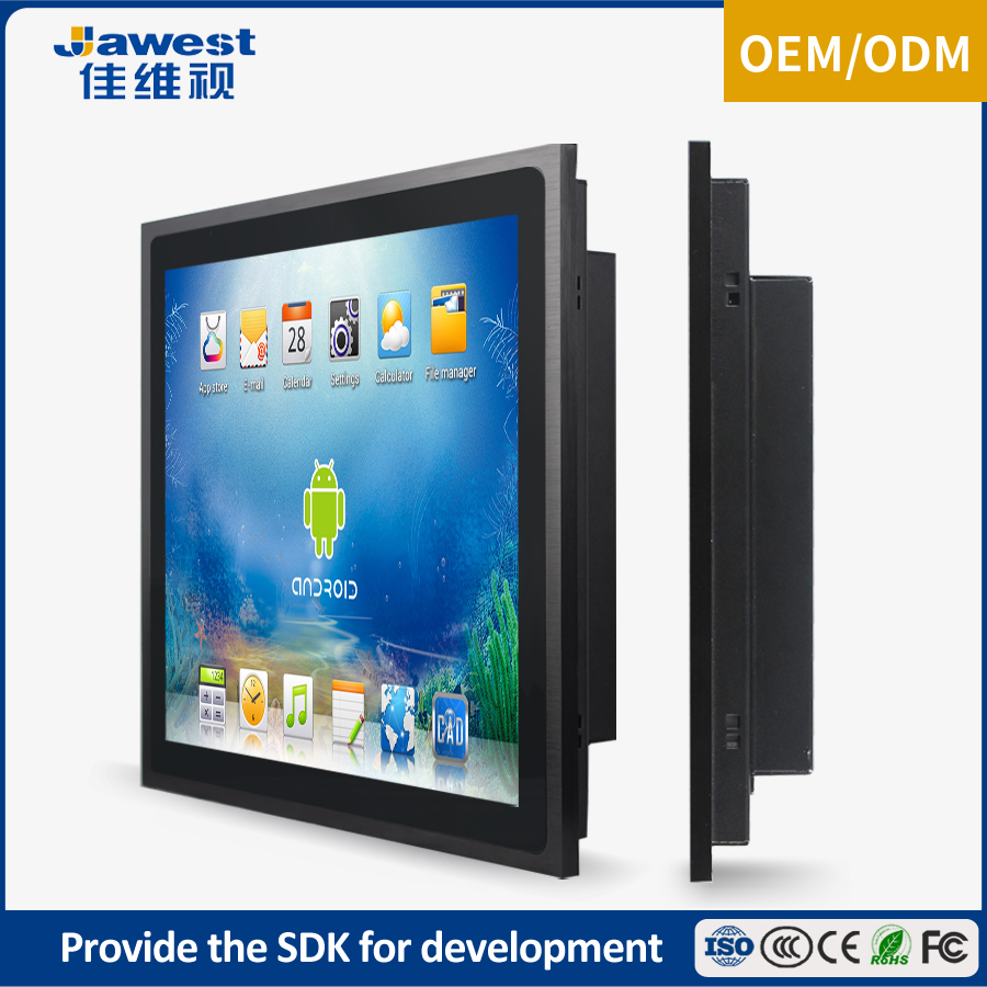 "Capacitive / Resistive Touch screen all-in-one PC 15 inch hdmi monitor 15.6"" inch android tablet pc"