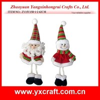 christmas decoration (ZY15Y150-1-2) Christmas santa and snowman