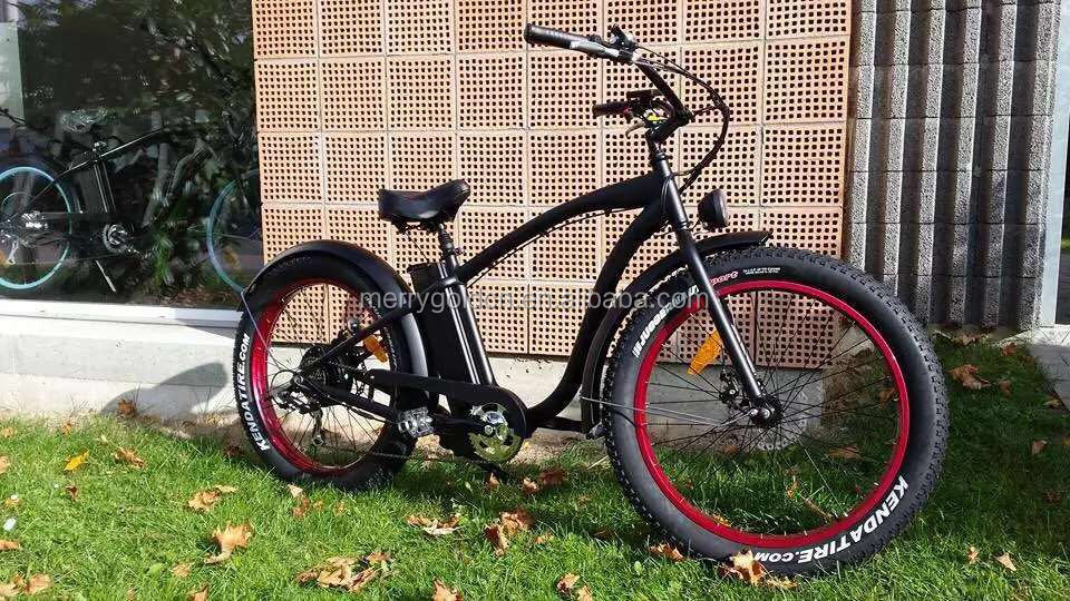 2016 8FUN Motor 48V 500W Fat Tyres Beach Cruiser Electric Bike