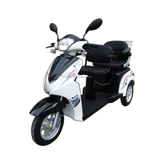 New fashion 3 wheel folding scooter passenger tricycle disabled motorcycle