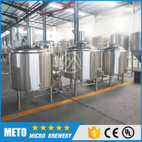 500L beer brewing factory /brewhosue beer manufacturing machinery for sale