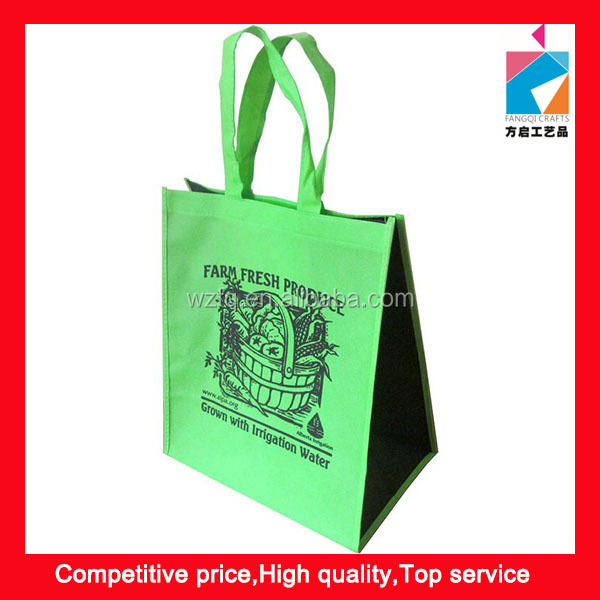 Recycle PP Spunbond Non Woven Grocery Shopping Bag