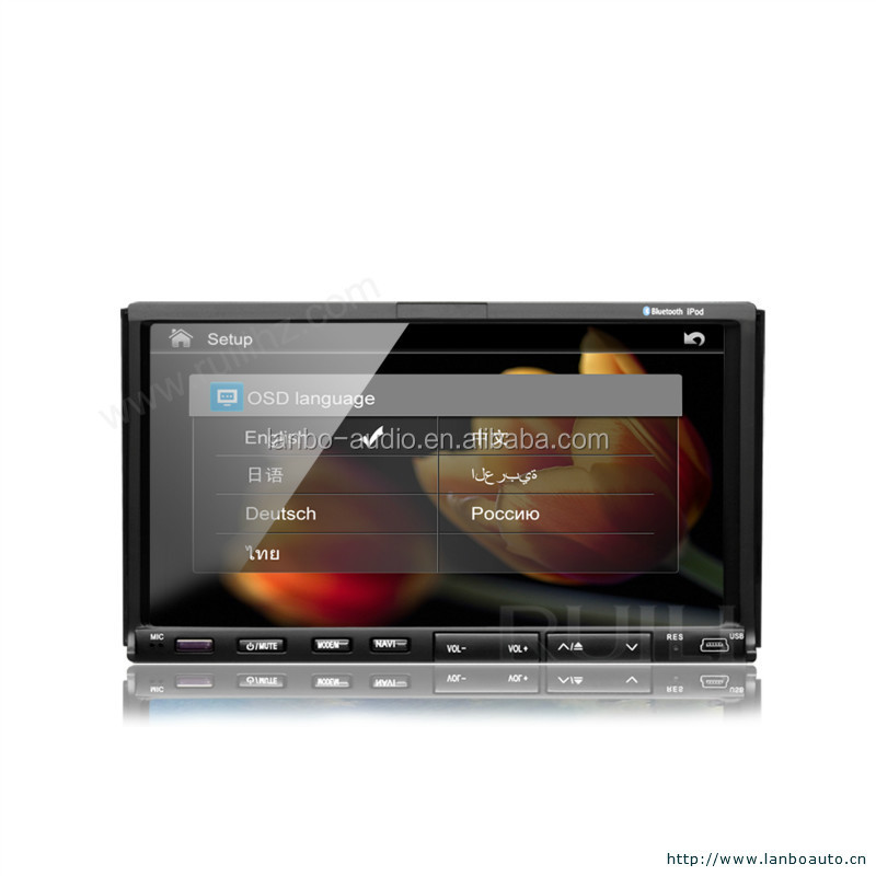 Car dvd player for mazda 2 with AM/FM radio and touch screen