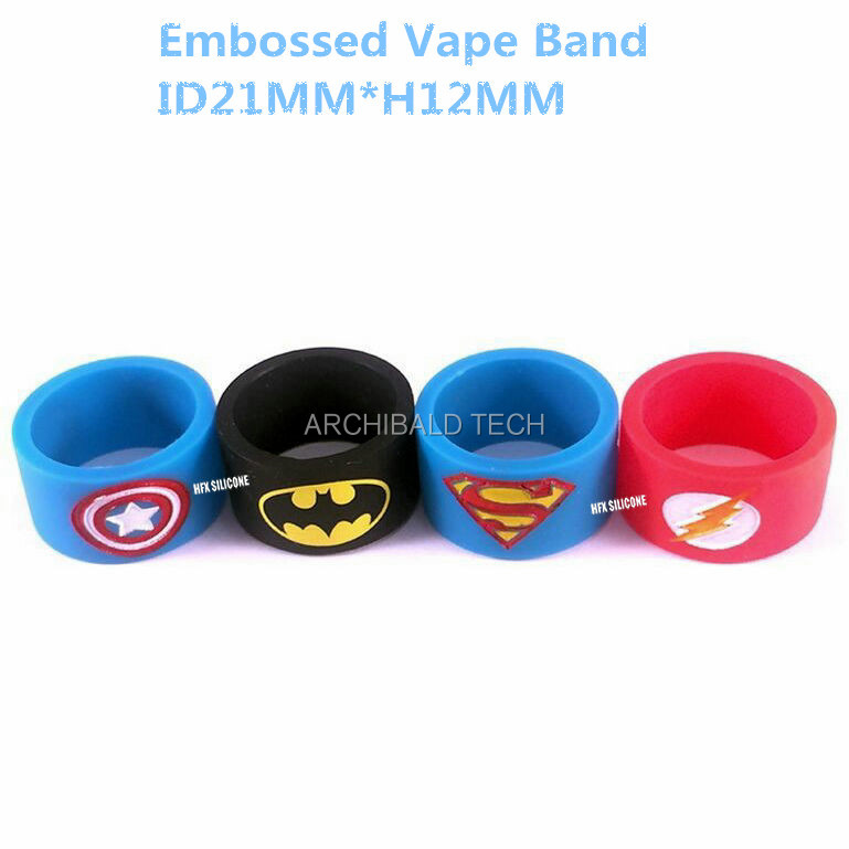 Fashionable glow in the dark silicone rubber finger / thumb / O ring wholesale