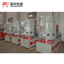 Plastic granules recycling agglomerator for PP PE used film plastic bag