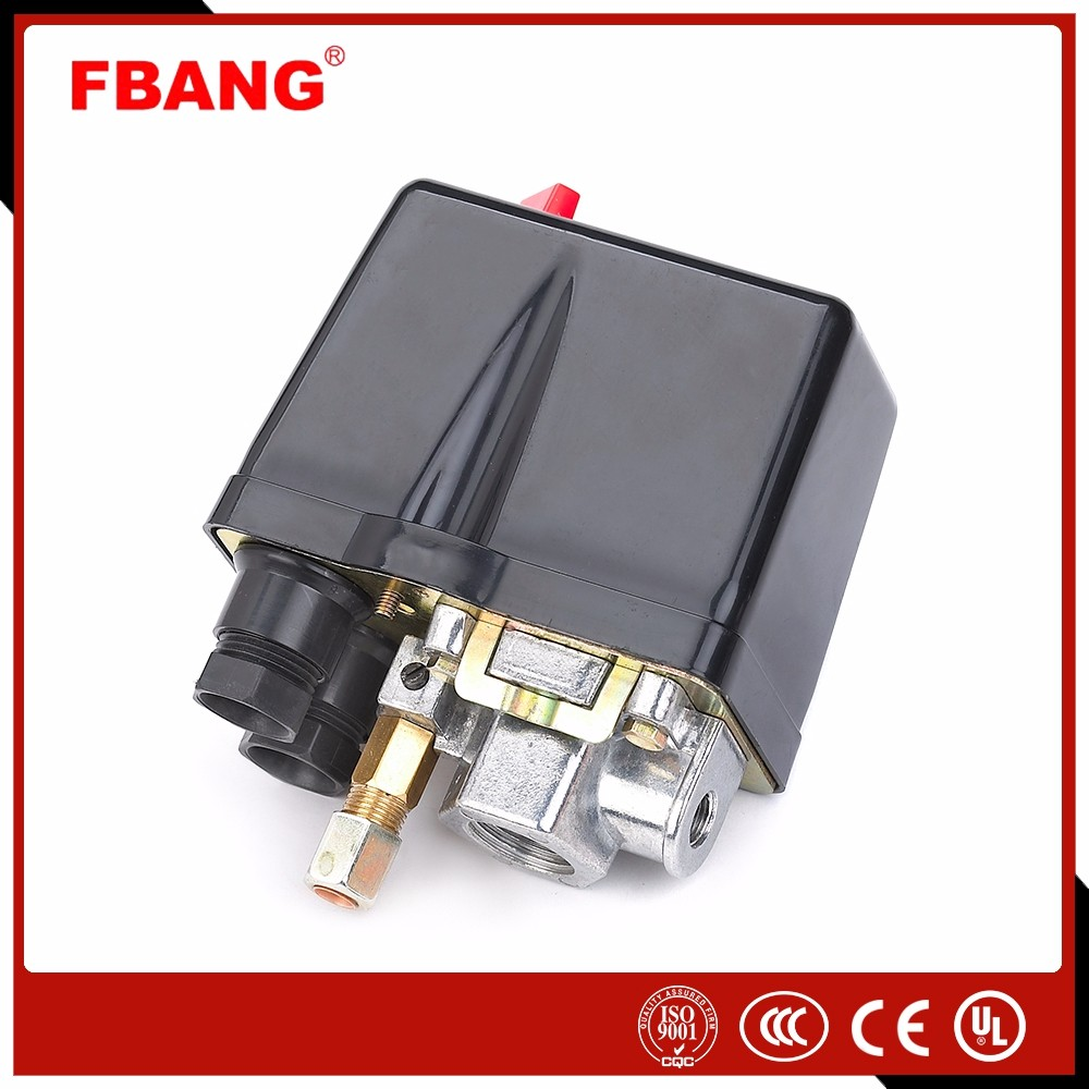 Antifouling pressure switch for mini air compressor