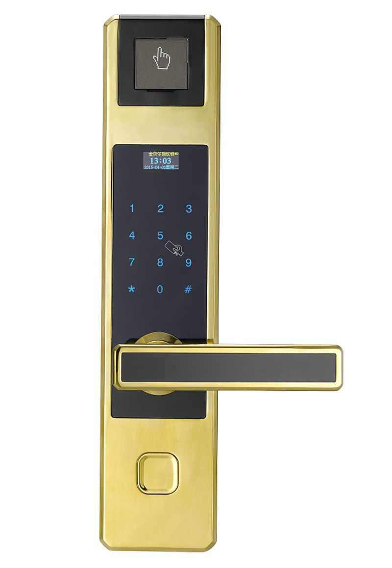 Fingerprint gate door lock number pad door lock buy for 1 touch fingerprint door lock