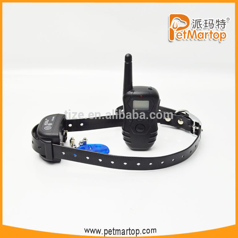 China Supply Waterproof Electronic Remote Vibrating Dog Trainning Collar