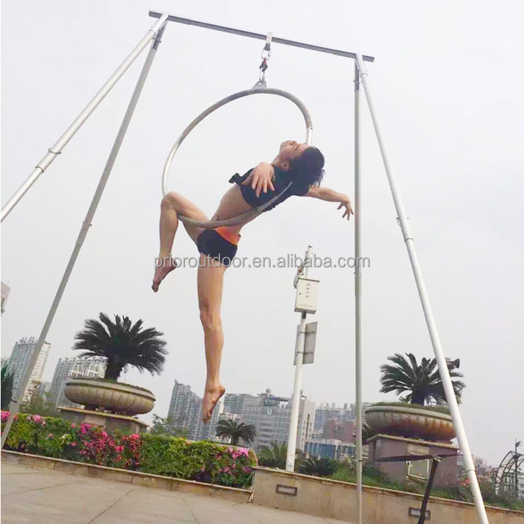 2020 Hot Sale Aerial Yoga Frame Stand Aerial Rigs Aerial Yoga Swing Hammock Frames Stand Height Adjustable Collapsible