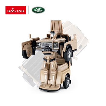 Rastar new small size die cast moving toy robot for kids
