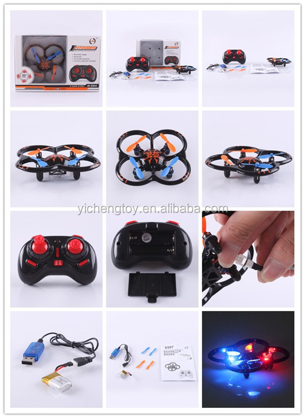 2.4G 4-AXIS RC QUADCOPTER 6-AXIS GYROSCOPE WITH FRAME