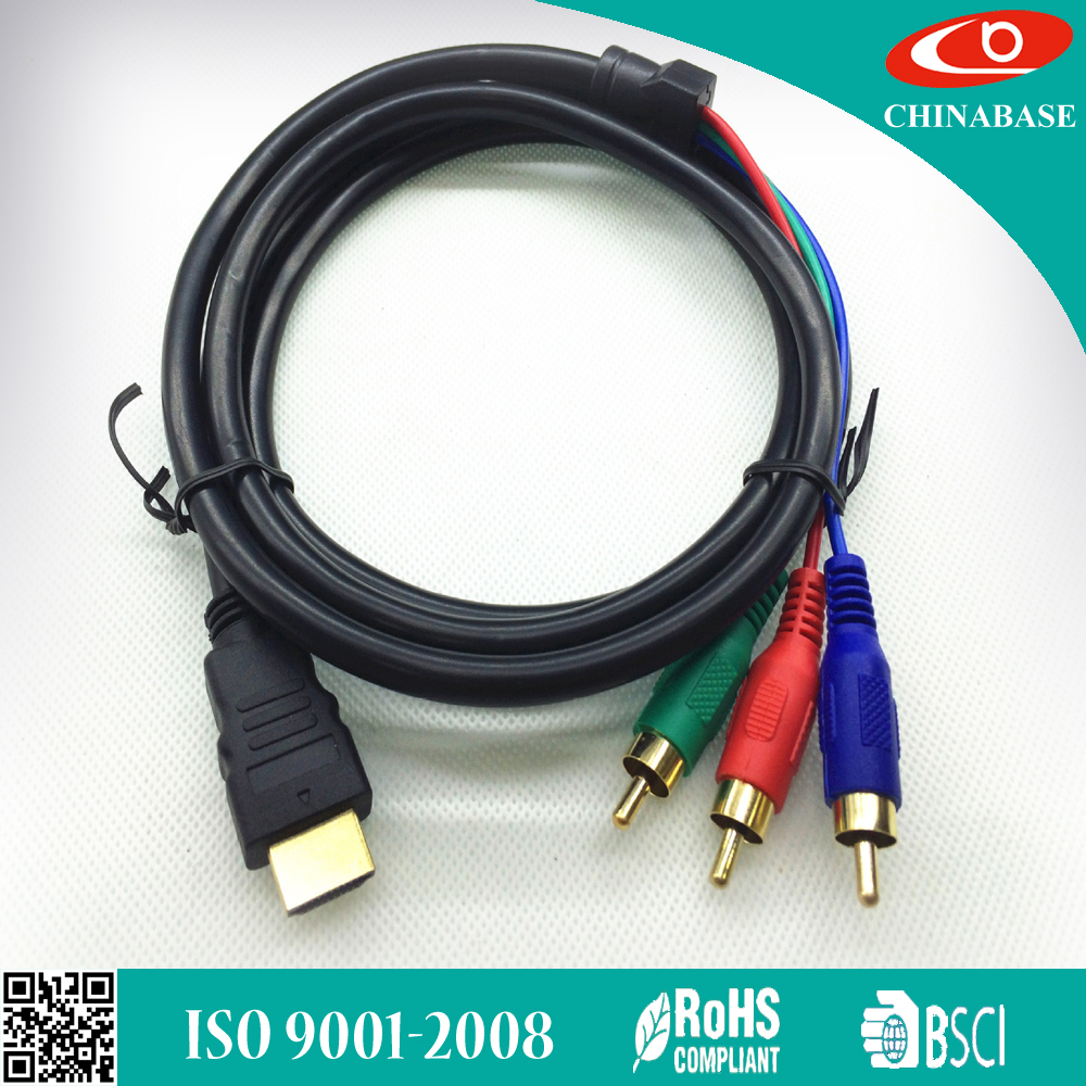 2017 GOOD PRICE hdmi converter to rca cable
