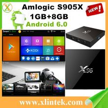 Factory direct sale s905x X96 android tv box av cable quad core internet tv set top box