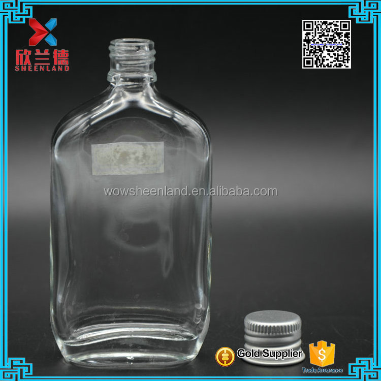 Factory Cheap Price mini glass alcohol/wine bottle 50ml