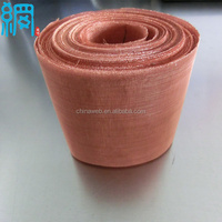 Extremely Fine Copper Mesh For EMF Shielding / Copper Wire Cloth for EMF Shielding