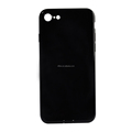 DFIFAN Hot trend for iPhone 7 8 glossy jet black case,cover case for iphone 7 8 plus bright black tpu gel phone case accessories