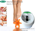 detox expelling foot spa with massage belt and foot basin all in one machine