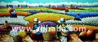 Paintings On Canvas, Traditionalist Peruvian Art Craft